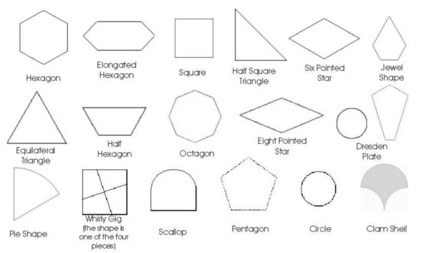 English Paper Piecing Patterns Catalog Of Patterns English Paper Piecing Paper Piecing Patterns English Paper