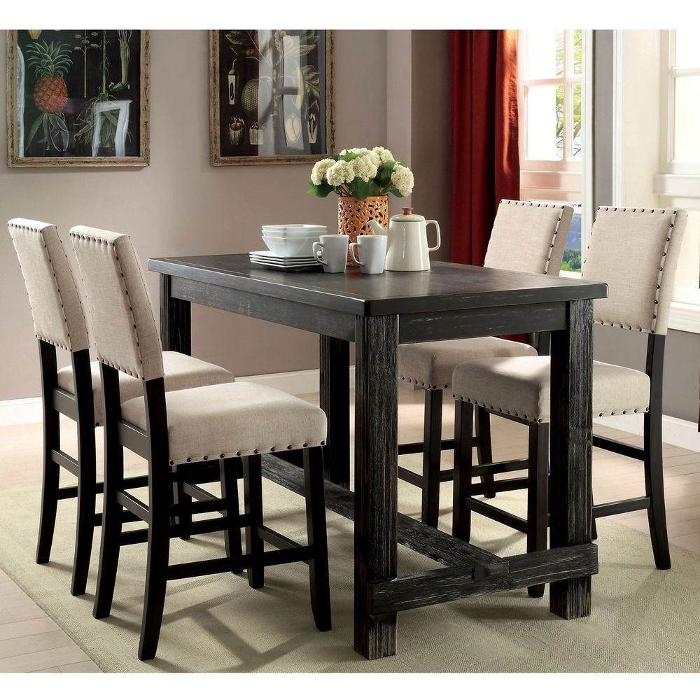 Overstock Com Online Shopping Bedding Furniture Electronics Jewelry Clothing More Counter Height Dining Table Dining Table In Kitchen Counter Height Pub Table Counter height round table and chairs