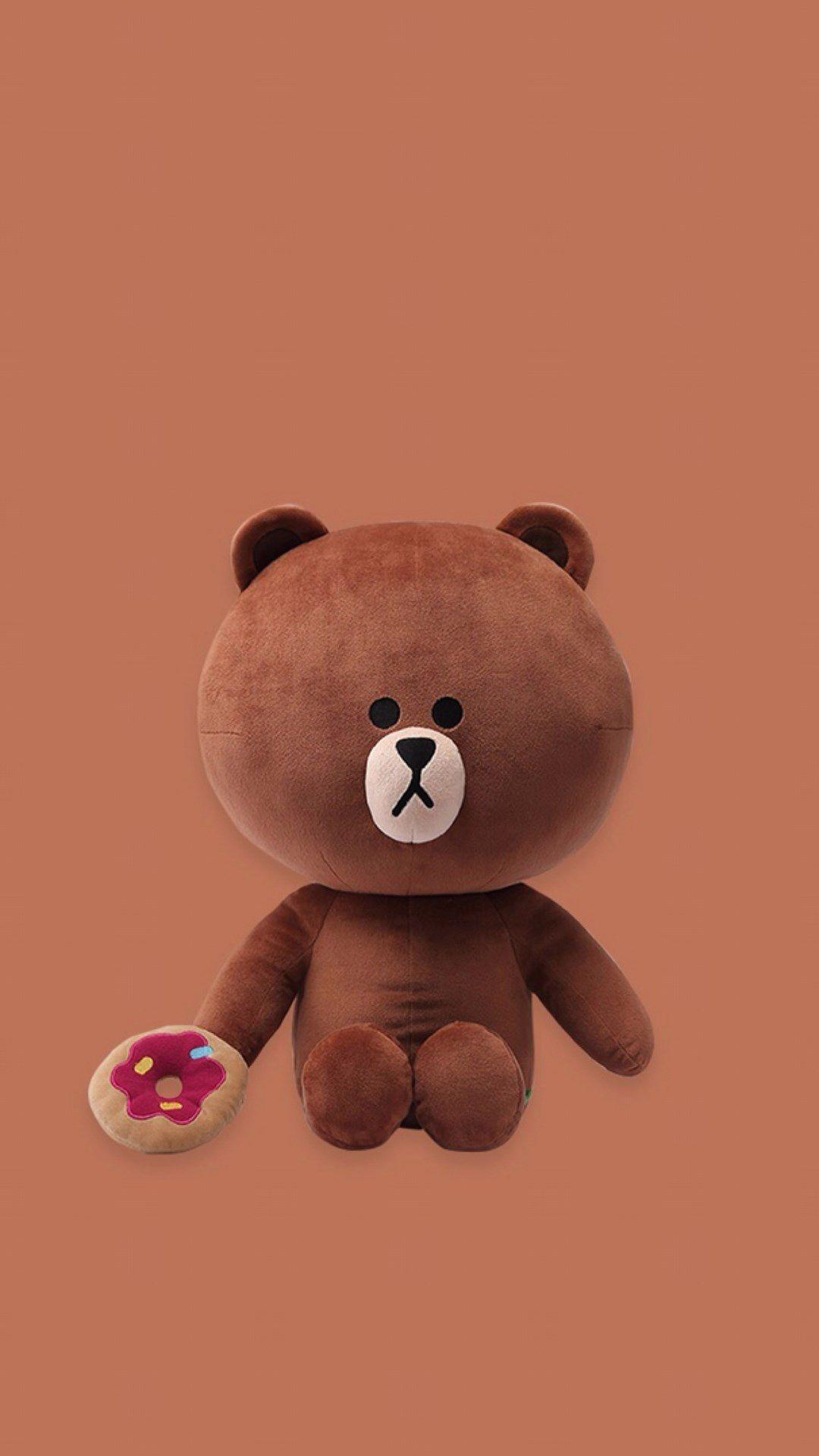 Animal iphone wallpaper tumblr - Rag Roll Cute Cartoon Bear Iphone Wallpaper Ilikewallpaper Com Cute