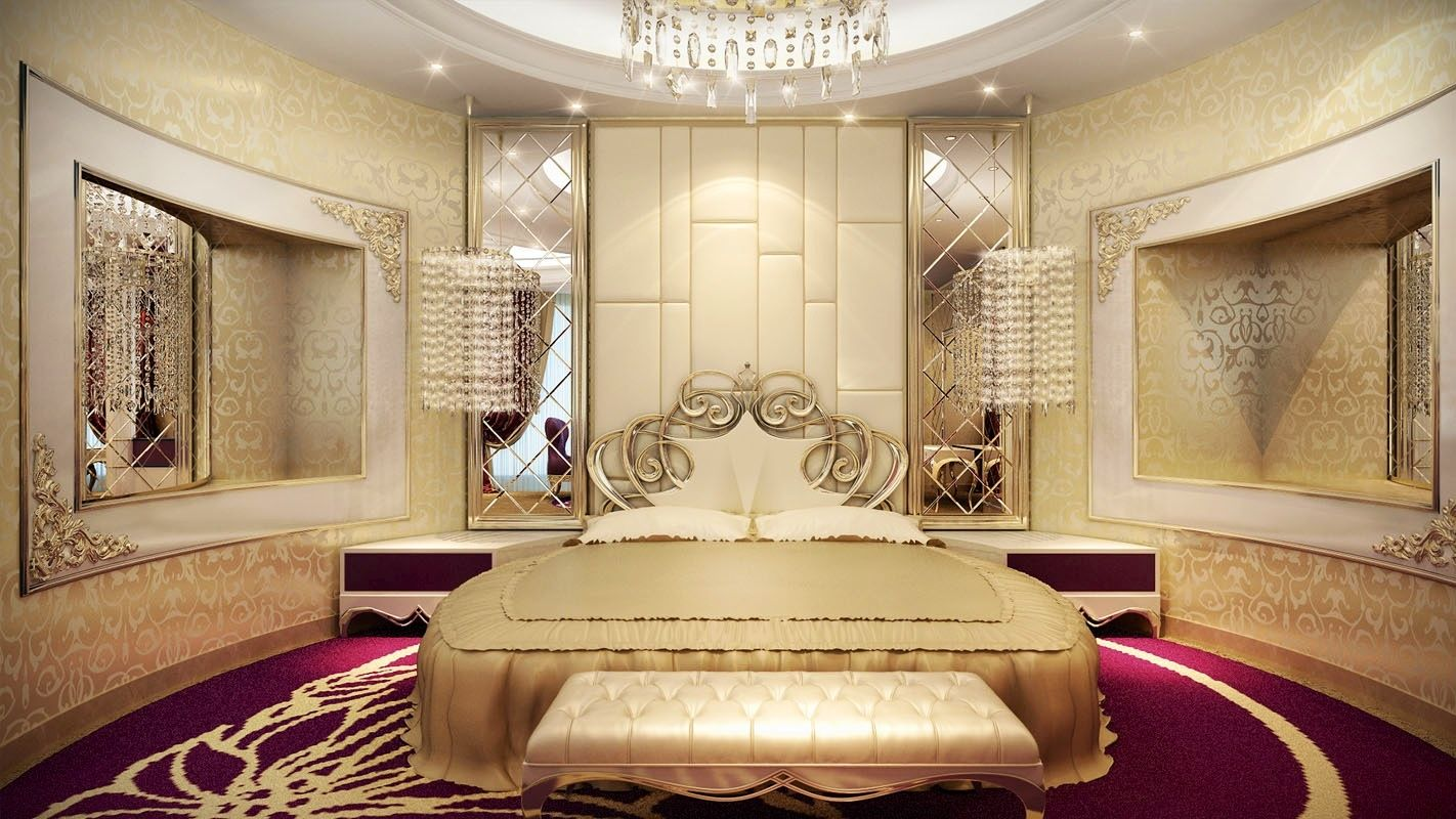 Luxurious dream home master bedroom suite seating mansion for Home master