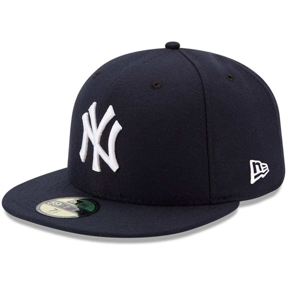 Youth New Era Navy New York Yankees Authentic Collection On Field Game 59fifty Fitted Hat Fitted Hats New Era New York Yankees