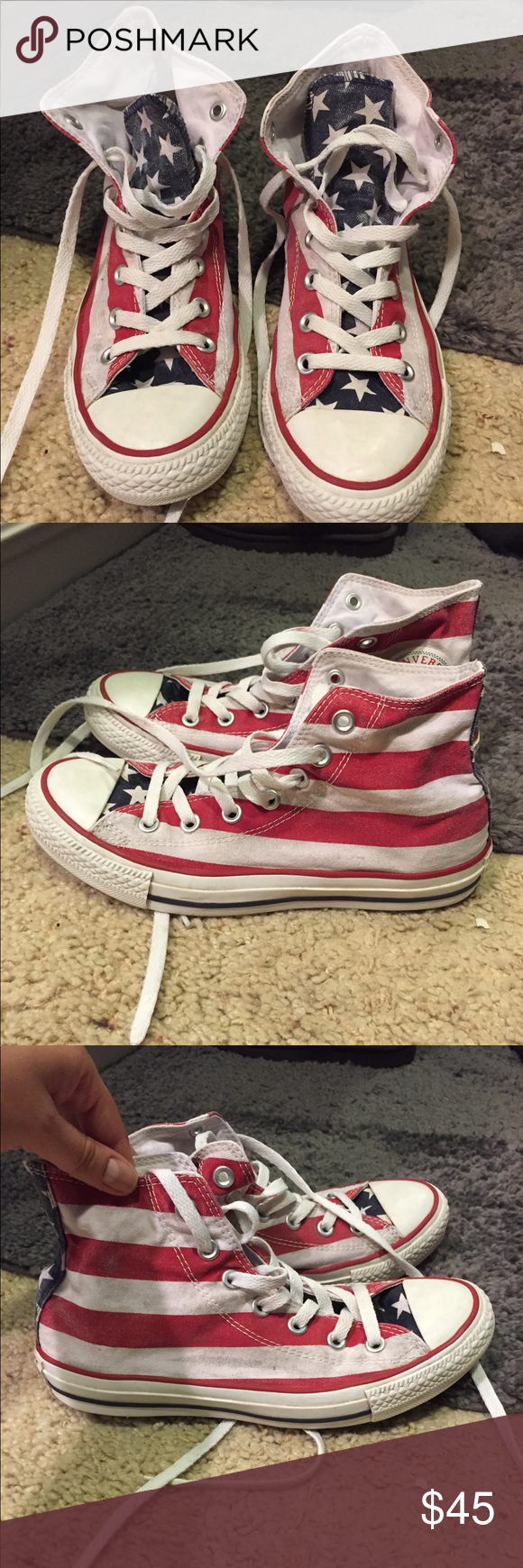 Converse Chuck Taylor Americana High Top Lightly stained df11e6ee2
