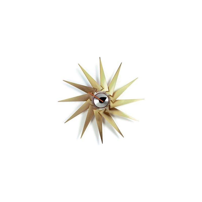 Turbine Clock designet af George Nelson