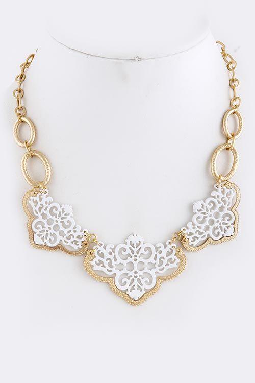 LOVE - Capri Cut Out Necklace