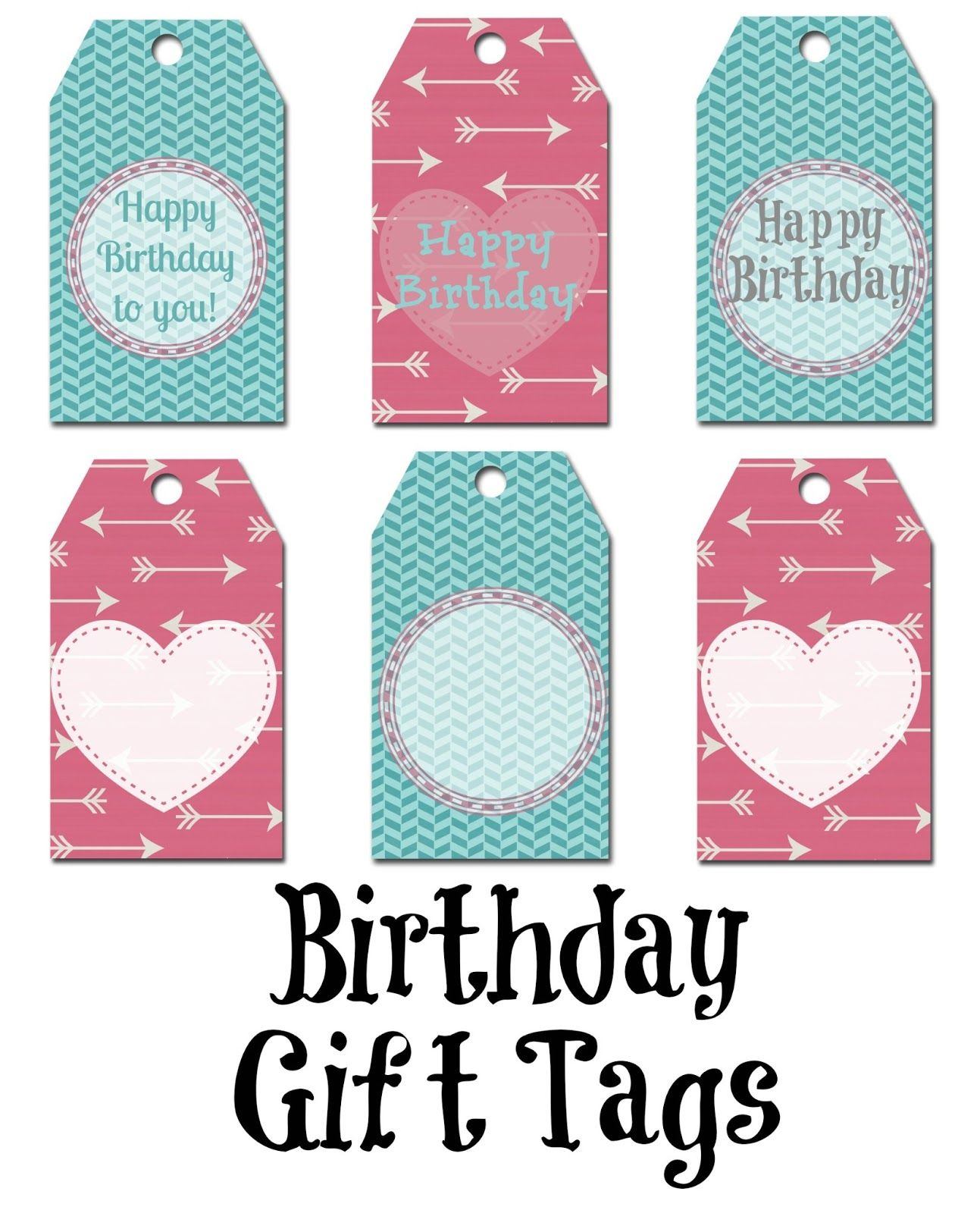 Happy birthday gift tag gift tags pinterest gift tags free printable happy birthday gift tag negle Gallery