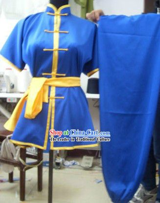 Blue Mandarin Kung Fu Tournament Competition Uniforms for Women #946 - $149.00