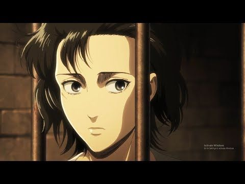 Mikasa's new hair style