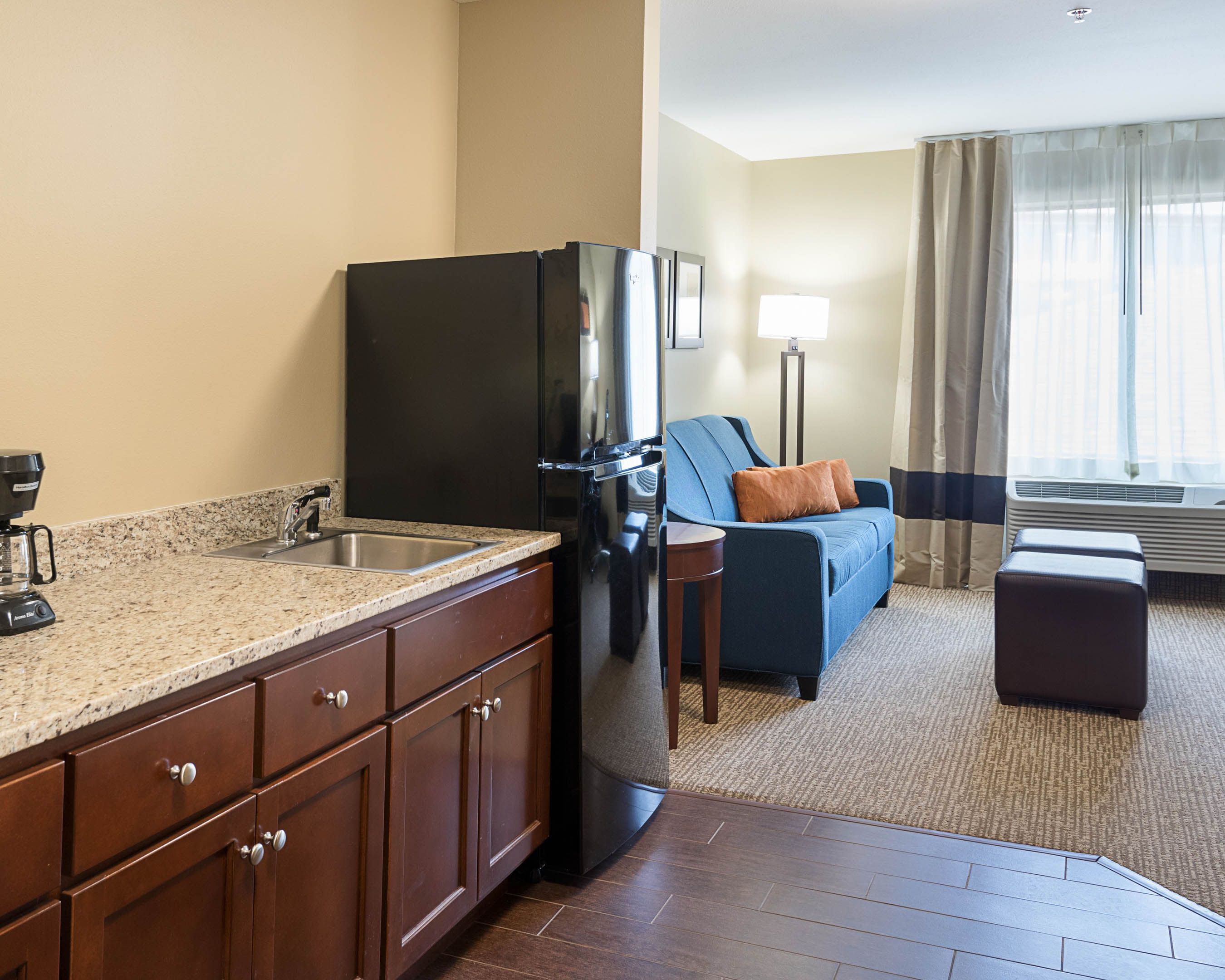 Our One Bedroom Suite Bedroom Suite Home Decor Kitchen Cabinets