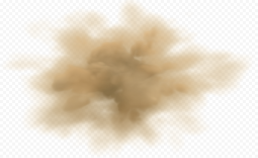 Sand Dust Brown Cloud Smoke Effect Clouds Sand Image