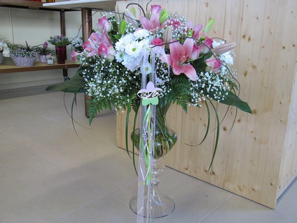 Aquests gerros també queden preciosos amb un bon ram de flors