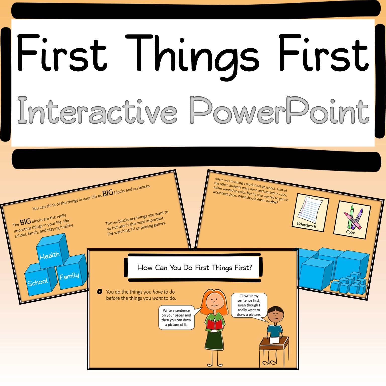 Prioritizing Interactive Powerpoint