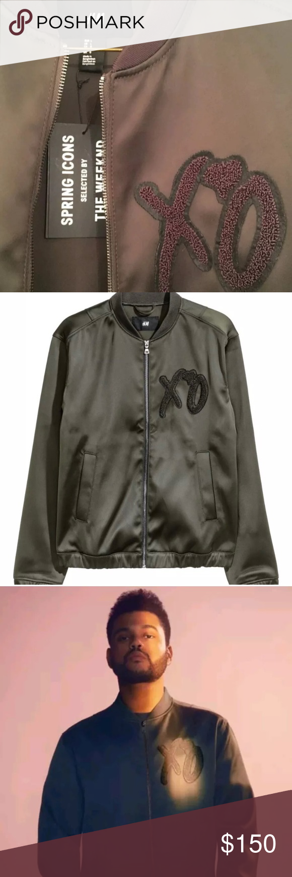 The Weeknd X H M Spring Icons Collection Bomber Icon Collection Clothes Design H M Jackets [ 1740 x 580 Pixel ]