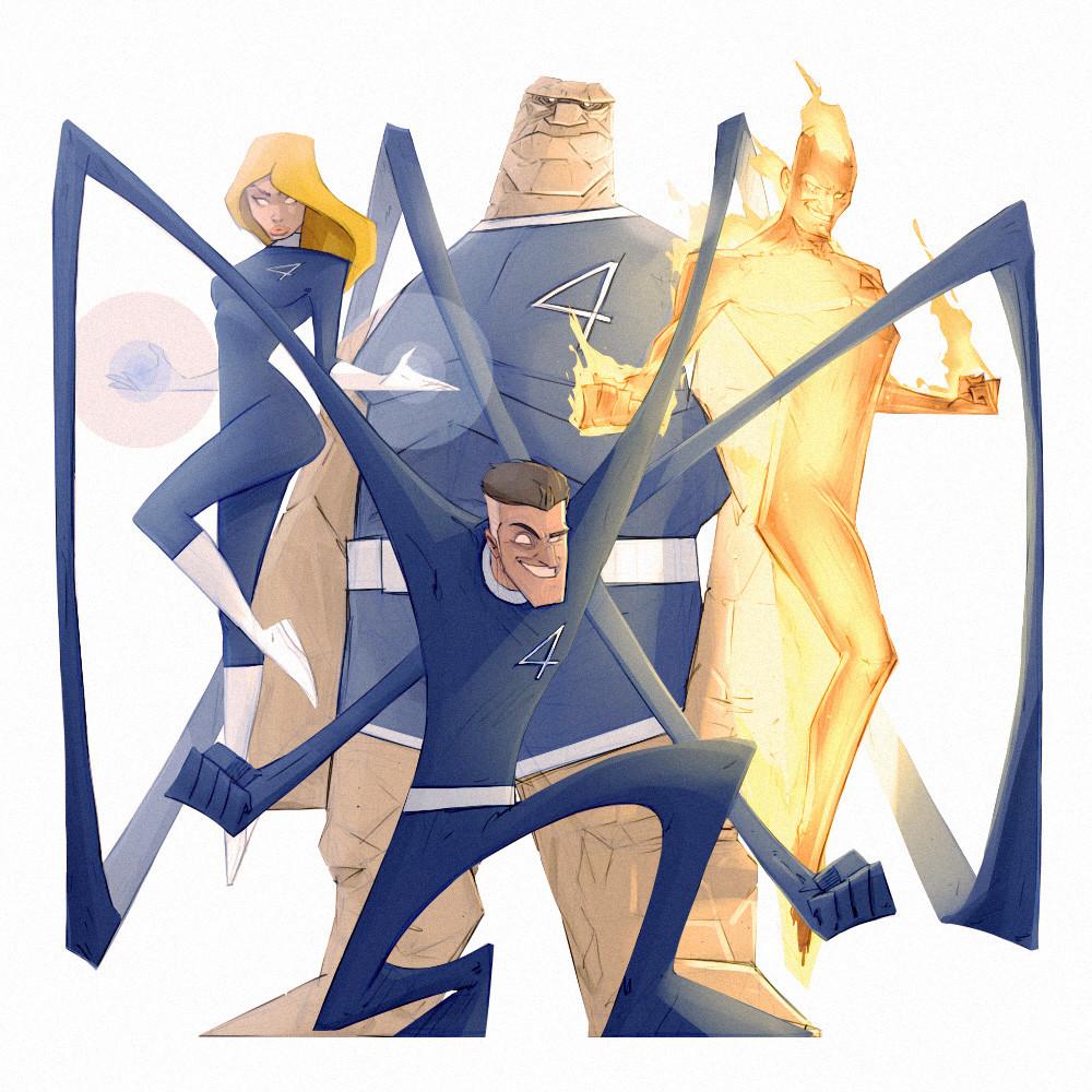 ArtStation - Fantastic Four, Evgeny Yurichev