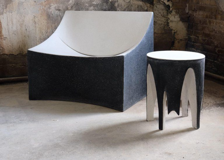 Admirable Cast Resin Lucio Lounge Chair Bw Finish By Zachary A Alphanode Cool Chair Designs And Ideas Alphanodeonline