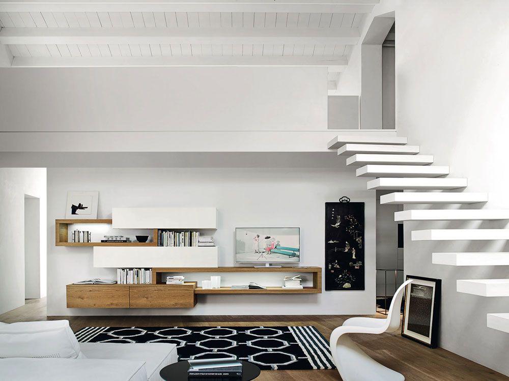 Pin by Jenny Dal on Soggiorno Pinterest - hängeschrank wohnzimmer aufhängen