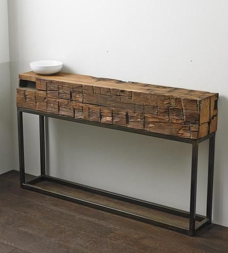 Strale Antique Beam Console Table Timber Furniture Wood Console Table Furniture