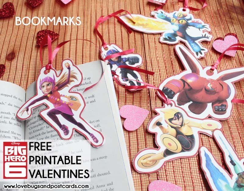 Big Hero 6 And Baymax Valentines Bighero6