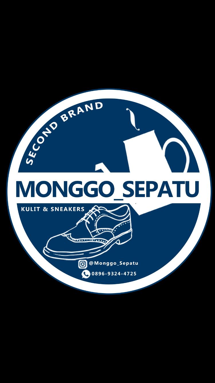 Logo Monggo Sepatu Second Brand Terfenomenal Fashion Secondhand