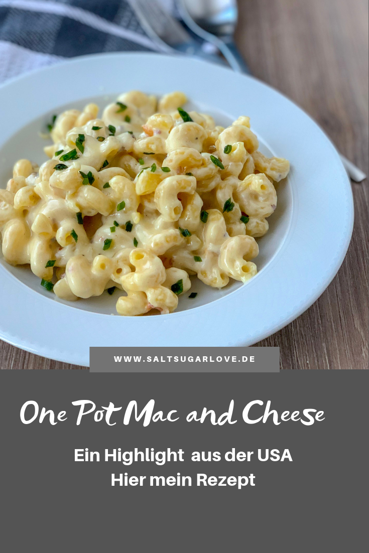 One Pot Mac and Cheese  #vegetarischerezepte