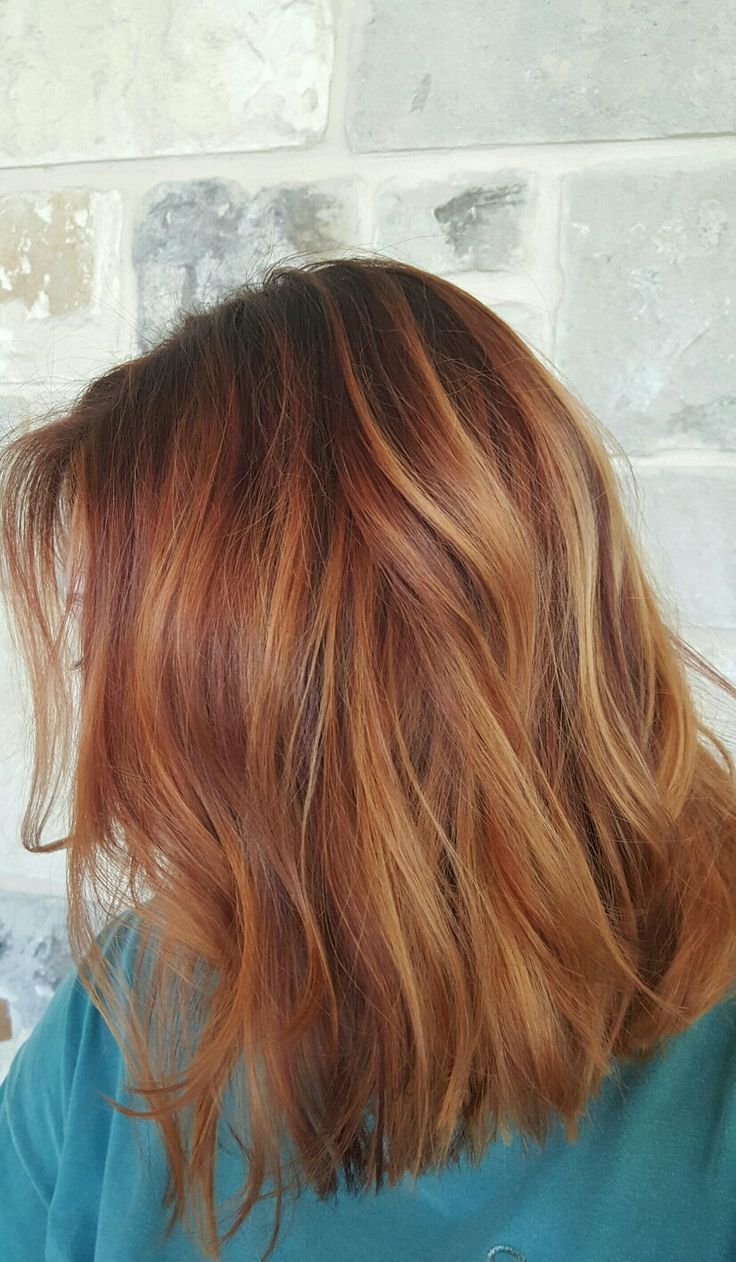 Photo of Balayage de cabello rojo con hermosa dimensión #pelora … – #Balayage #Dimension #Ha …, #Bala …