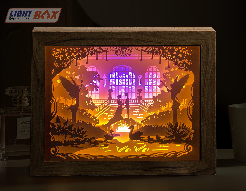 Pin On Paper Cut Light Box Teamplate