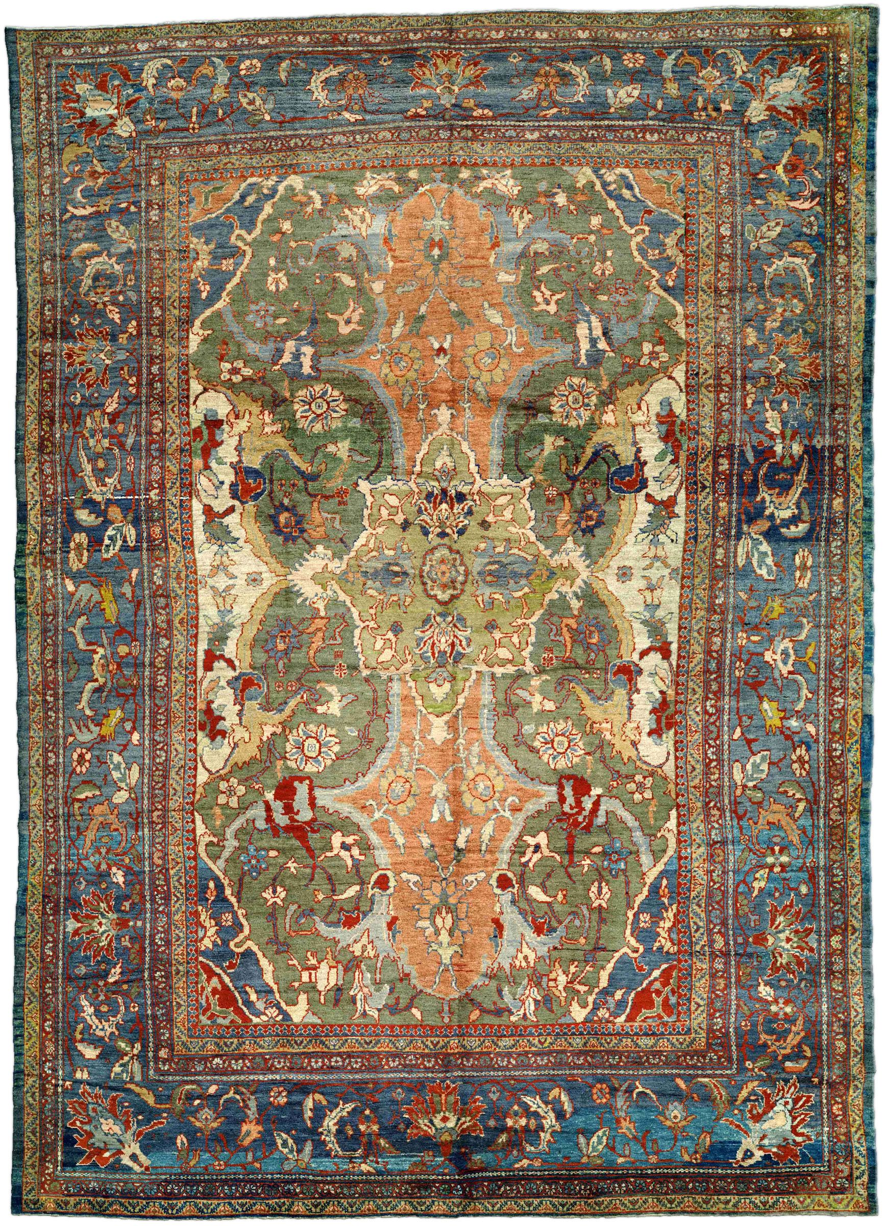 Antique Rugs Nyc A Persian Sultanabad Rug Bb3264 By Doris Leslie Blau An Unusual Late 19th Century Pers Antique Persian Rug Sultanabad Rug Antique Carpets