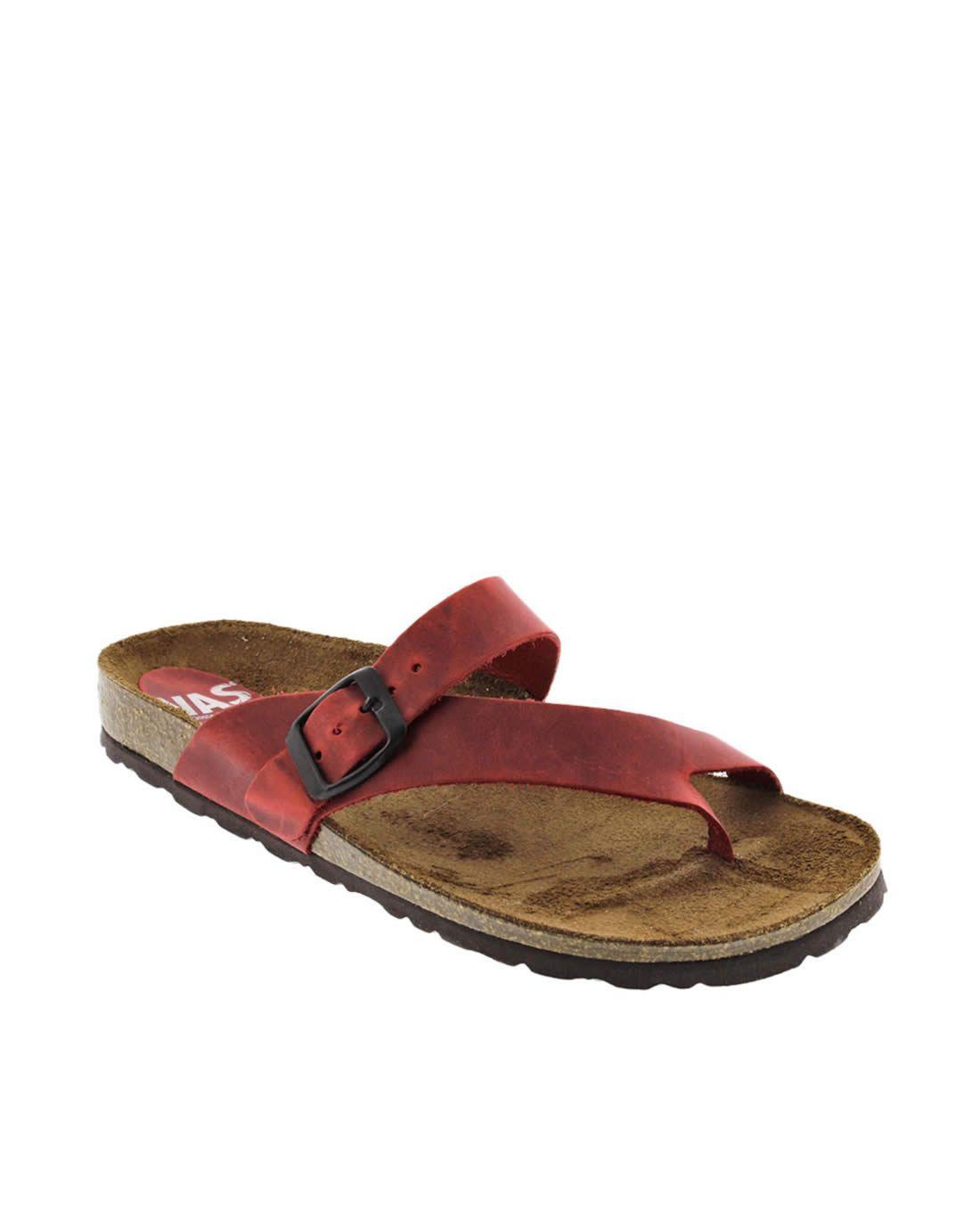 f3b27c541ed Sandalias planas VAS rojo 7119 | Minimalist Sandals | Pinterest ...