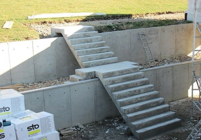 Good Concrete Exterior Stairs   Αναζήτηση Google