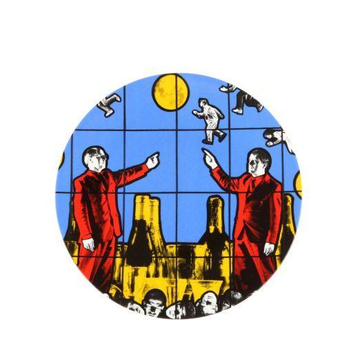 "LIGNE BLANCHE Gilbert & George ""Flight"" Plate"