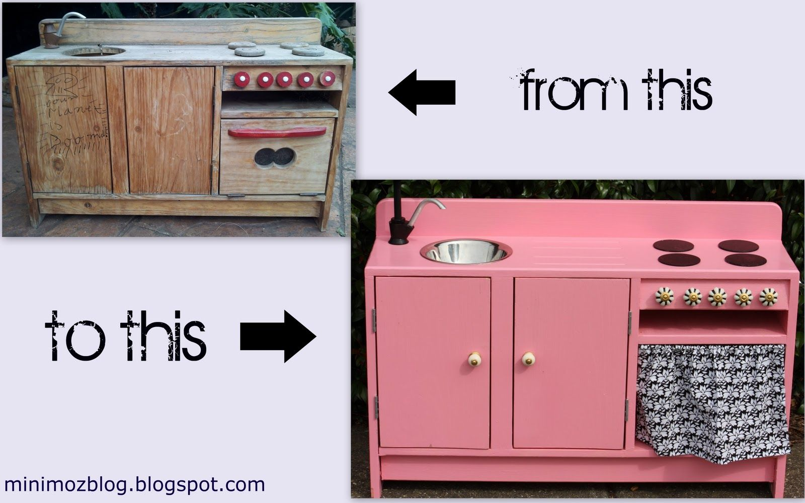 Download How To Build A Play Kitchen From Wood PDF Plans