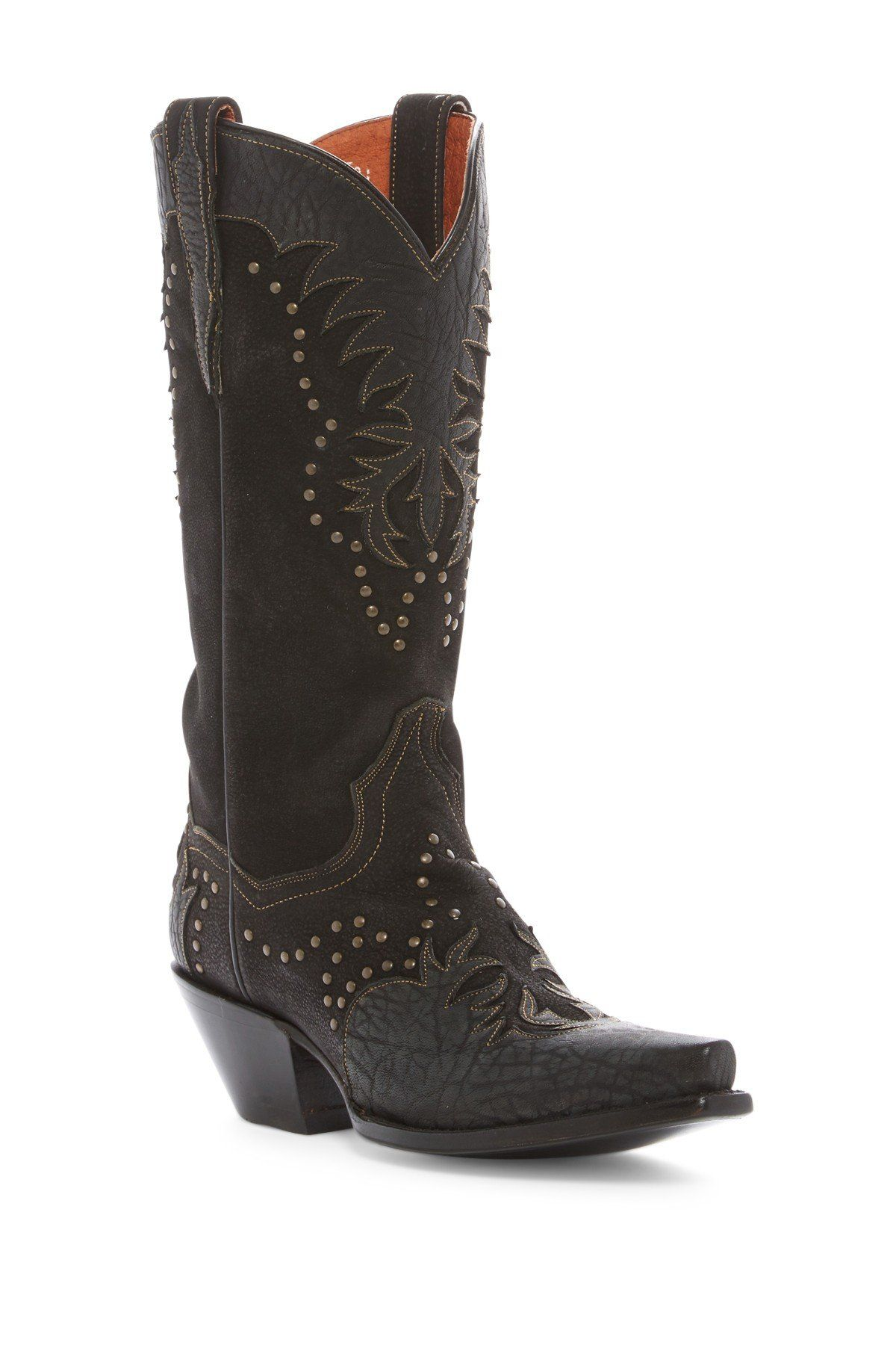 Invy Studded Western Boot