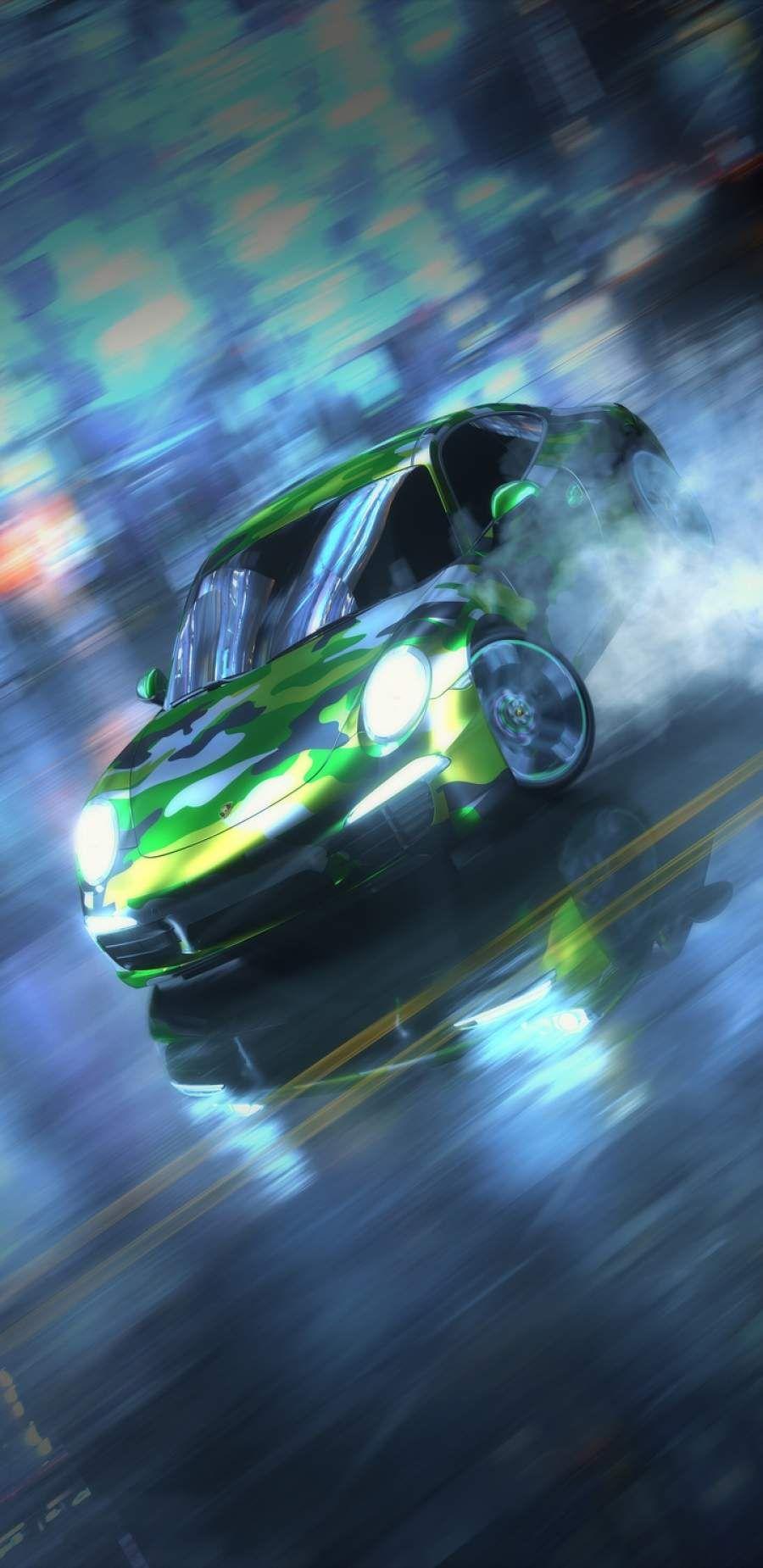 Porsche Drifting Iphone Wallpaper Car Wallpapers Car Iphone Wallpaper Iphone Wallpaper