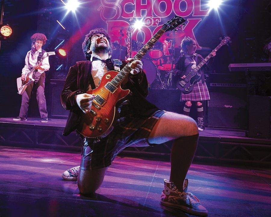 School of Rock Broadway Show New York City