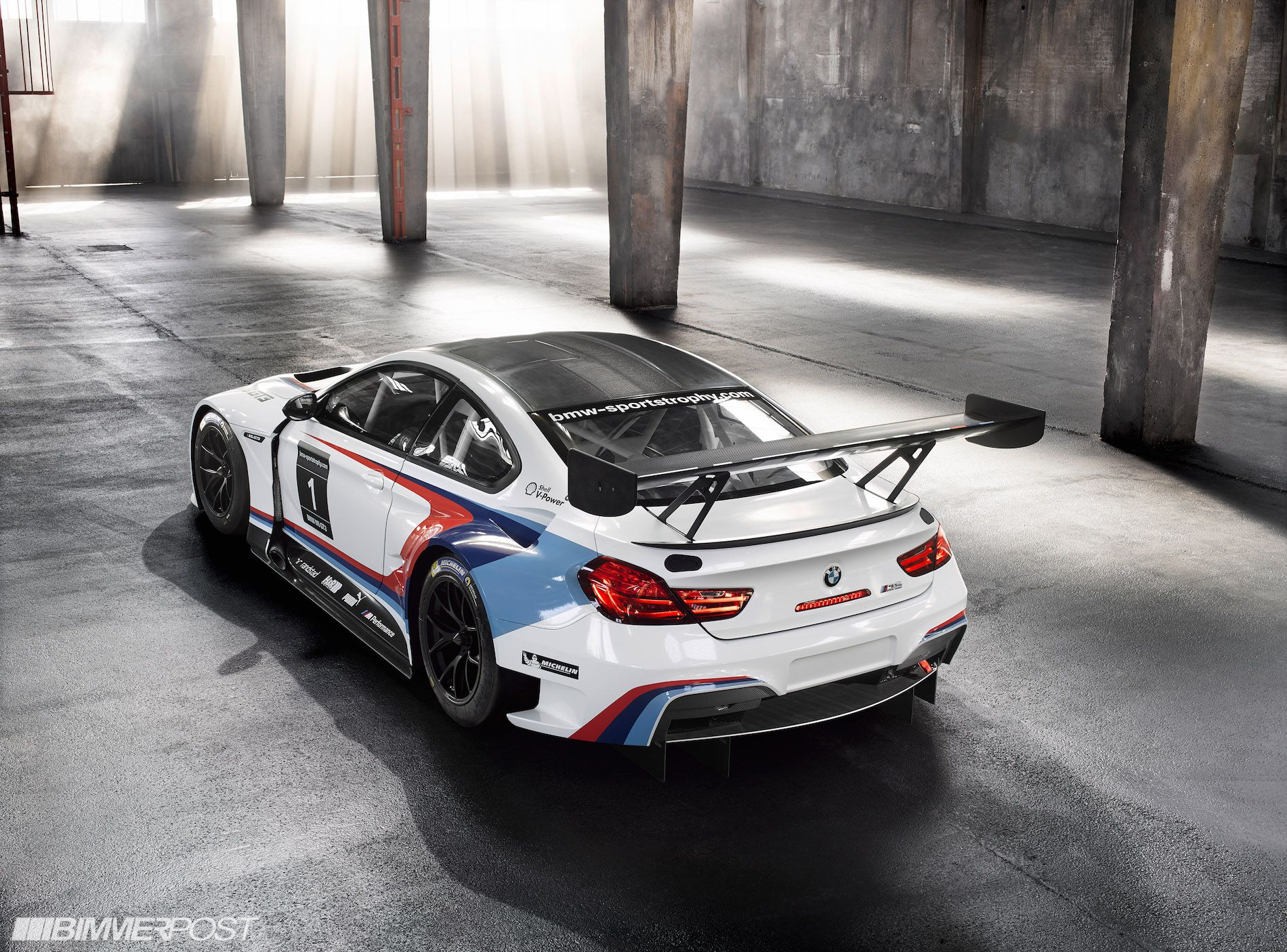 Presenting The Bmw M6 Gt3 Updated W Live Pics And Video Bmw
