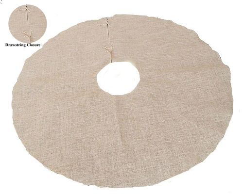 "60"" Diameter Genuine Burlap Tree Skirt"