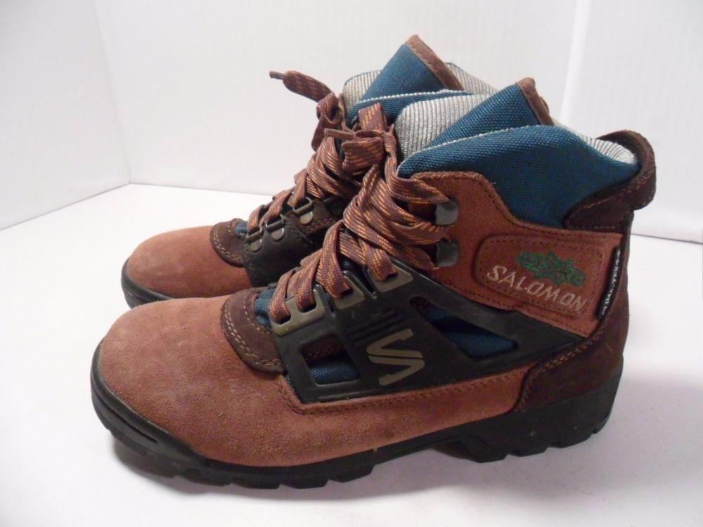 Tex Vibram Women's Boots Hiking Clima Trail Vintage Salomon Soles Nn0v8mwO