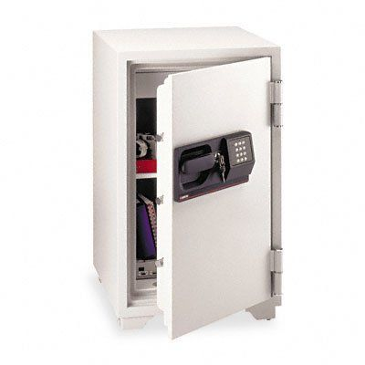 Fire-Safe Commercial Safe (Small) by SentrySafe. $840.16. Catalog Publishing Type - Safes-Standard. Color(s) - Light Gray. Coupon Cannon - 03-13-09. Capacity (text) - 3 ft3. Compliance, Standards - ETL Certified, Underwriters Laboratories Classification. S6770  Features: -UL Classified 1-hour proven fire protection.-Electronic Lock and key Lock.-Five live-locking bolts/three dead bolts.-1 multi-position shelf.-Locking drawer for small valuables.-As the fire raises ...