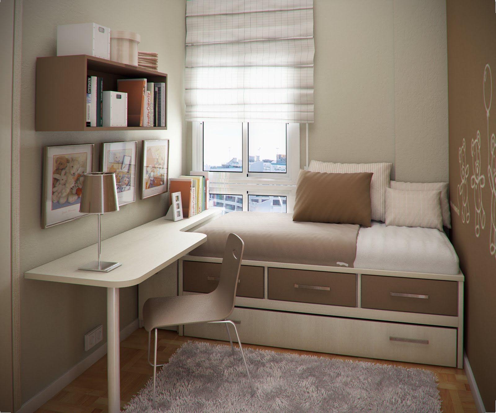 Kleines Gästezimmer Einrichten modern lokum pomysły na mały wąski pokój dziecka bedroom style