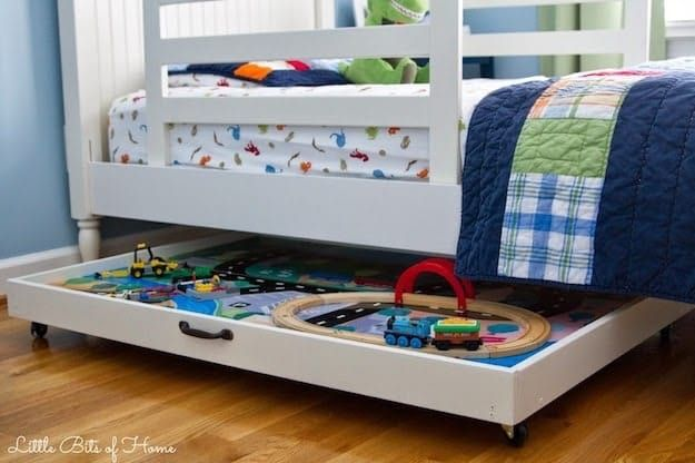 Toy Storage Solutions For A Well Organized House Under Bed