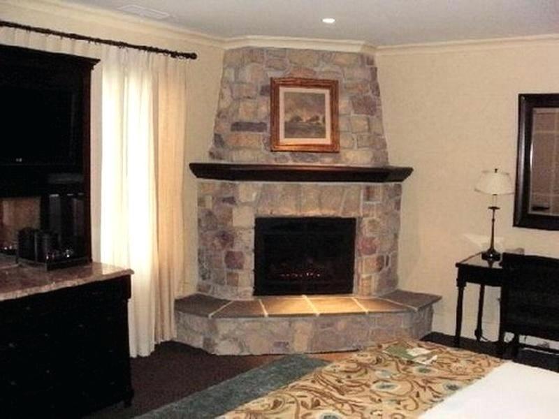Corner Gas Fireplace Ideas Fireplaces Stone Corner Fireplace Stone