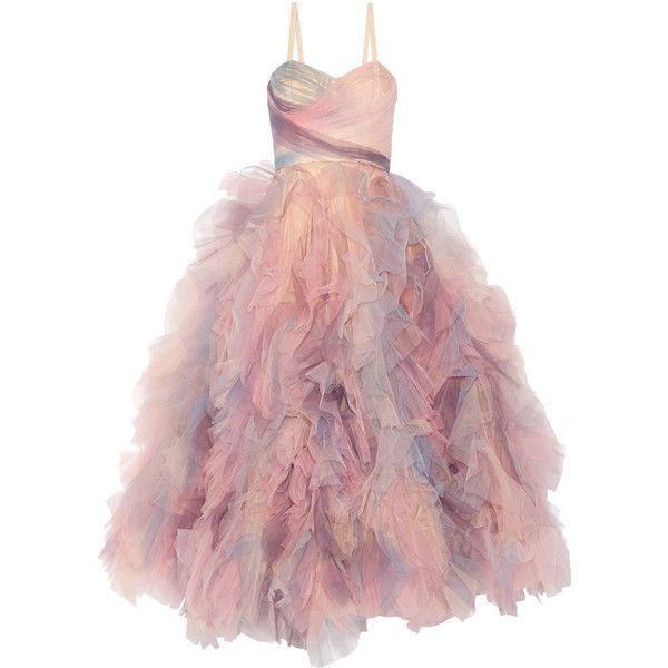 Pink Ruffled Dresses