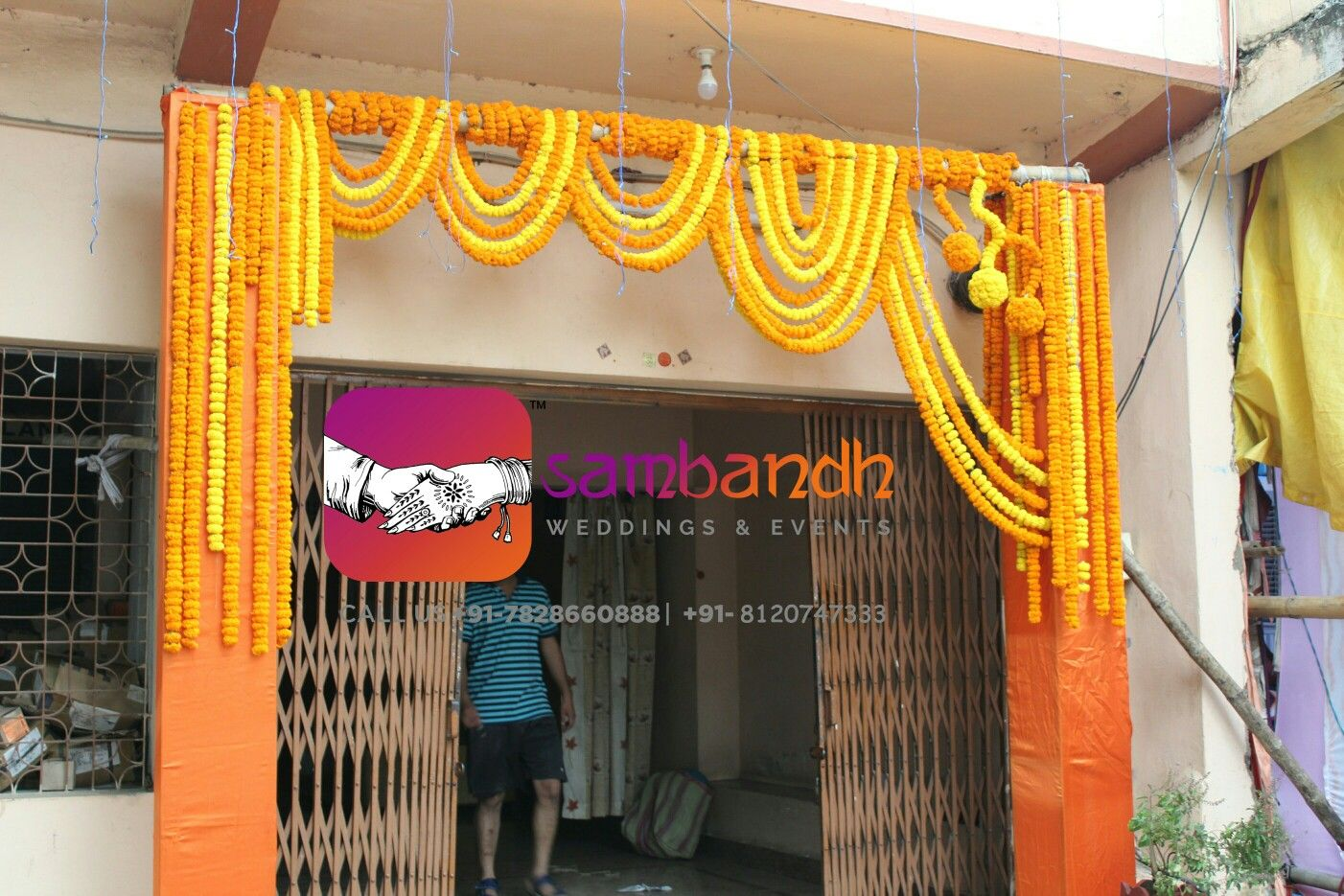 Entry Gate Genda Decoration Gate Decoration Mandap Decor