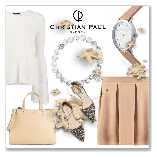 """""""Autumn with Christian Paul Watches"""" by andrejae ❤ liked on Polyvore featuring Boohoo, The Row, Calvin Klein, M. Gemi and christianpaul"""