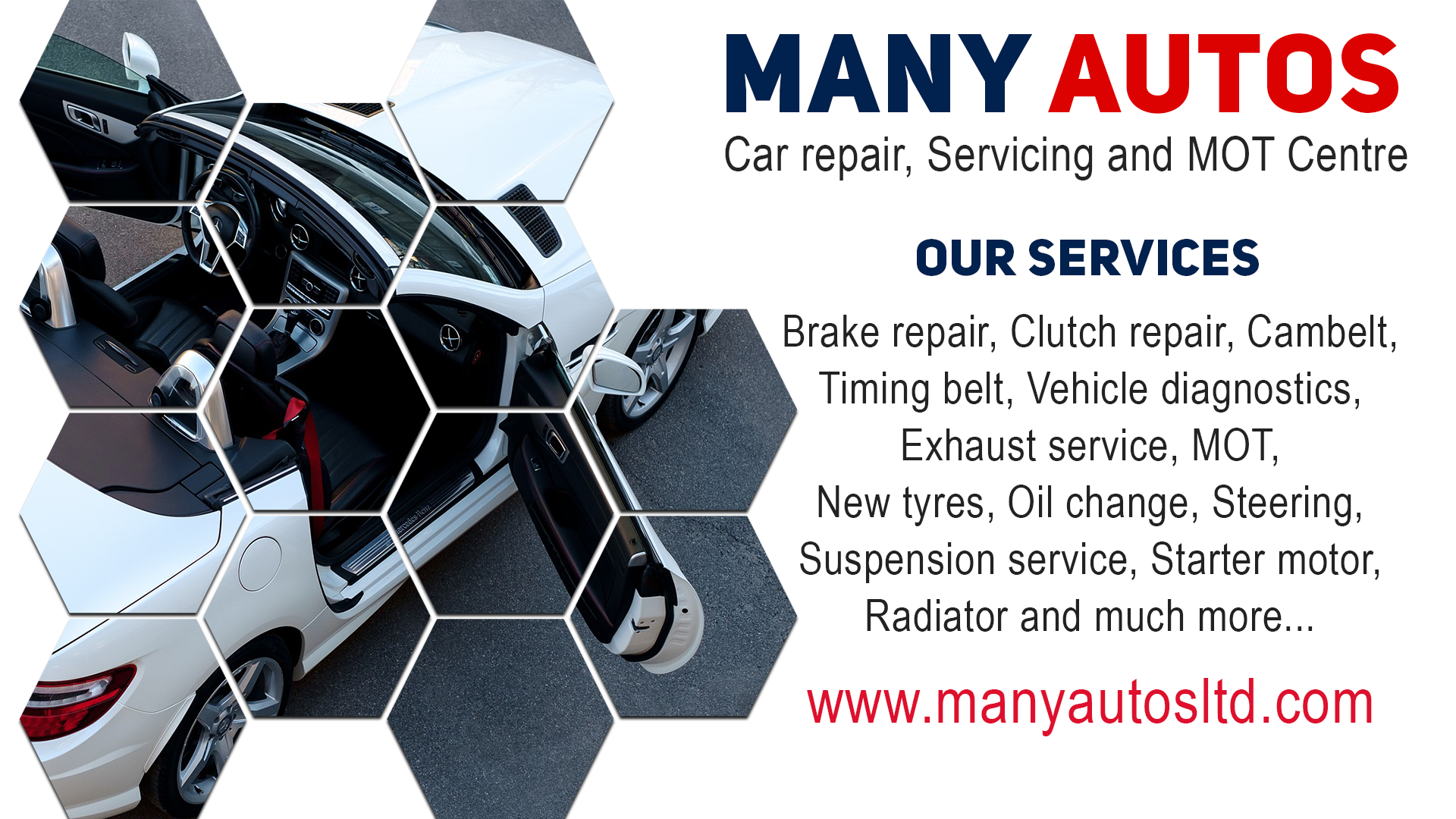 Whether you need a service, repair or an MOT, our highly