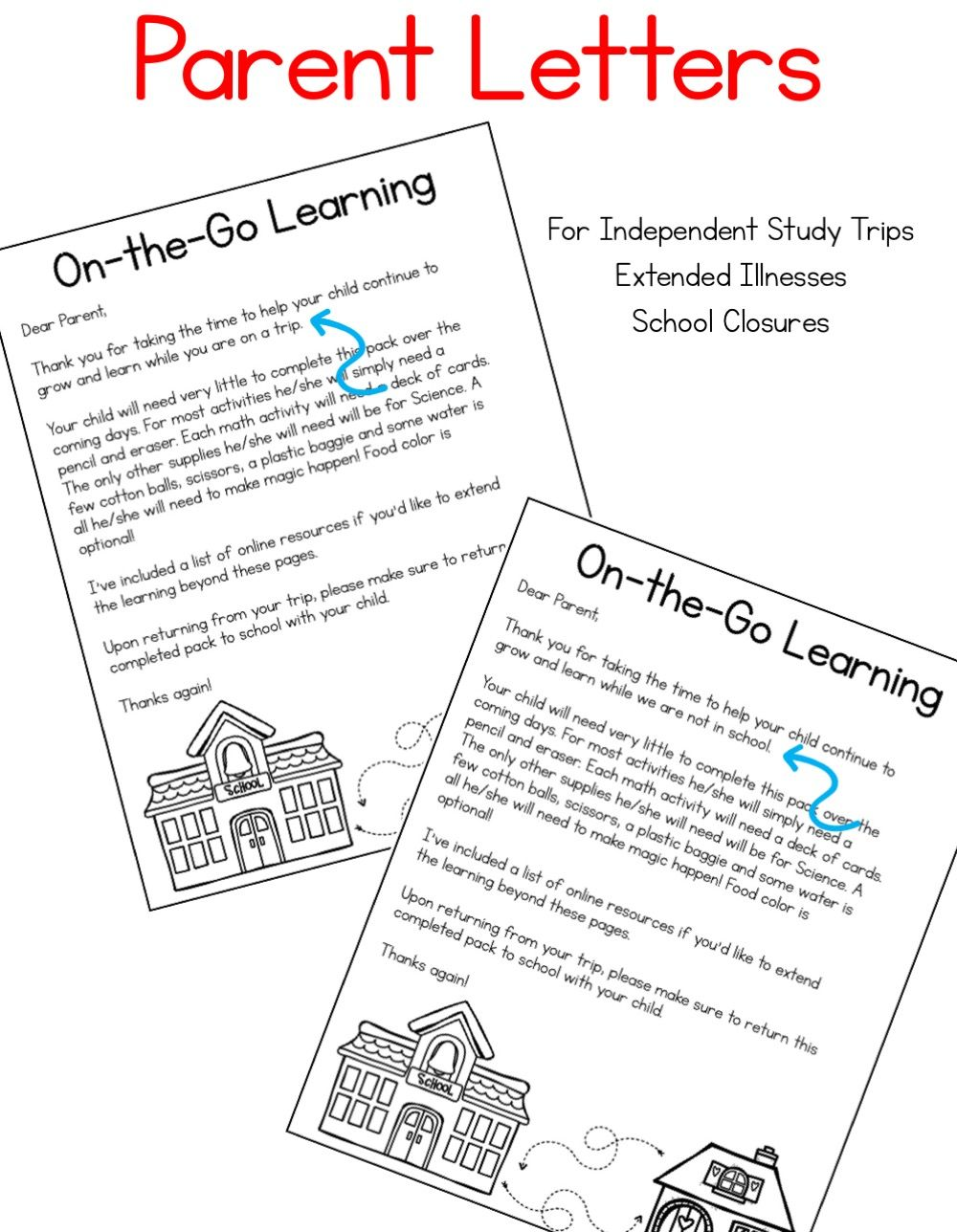 On-the-Go Learning! Curriculum to Use Outside the
