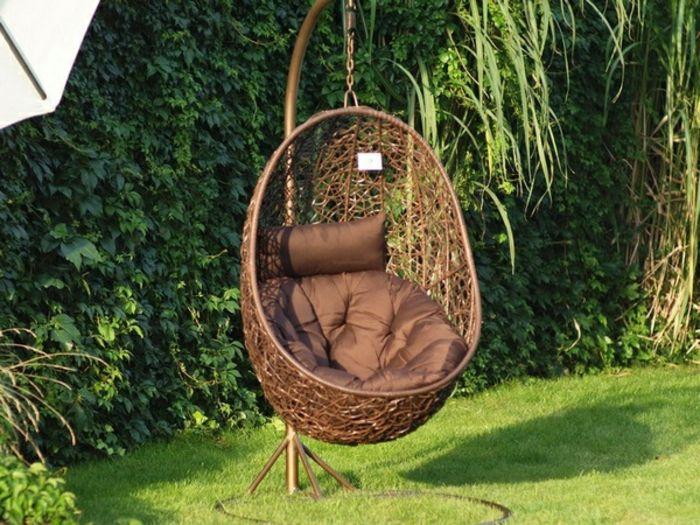 h ngesessel mit gestell einige exklusive modelle id es de jardin pinterest. Black Bedroom Furniture Sets. Home Design Ideas