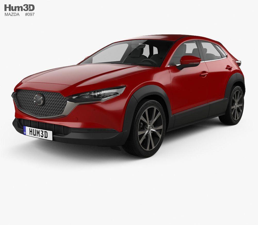 Mazda CX30 2020 3d model from