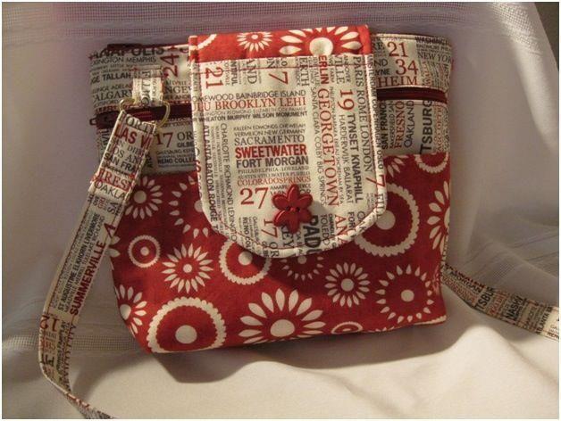 Stella Hoff Patchwork: Bolsa tiracolo de patchwork- PAP
