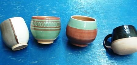 Pottery. Mates argentinos