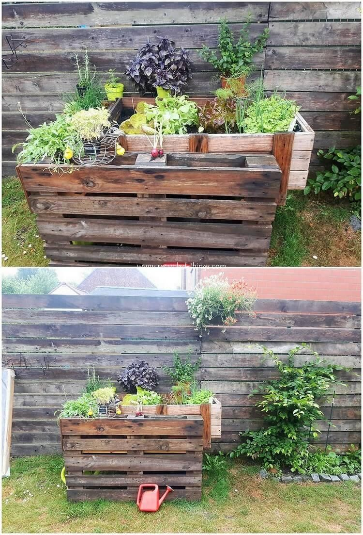 innovative things to do with recycled pallets recycled on easy diy woodworking projects to decor your home kinds of wooden planters id=82653